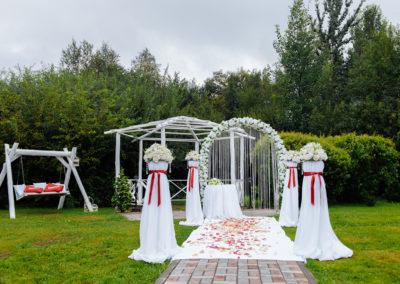 Грин Плаза - Оформление свадебного зала